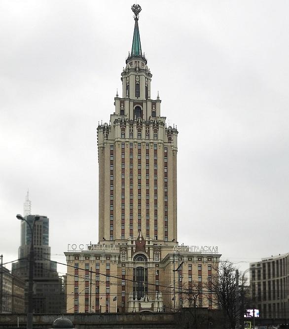 Гостиница Ленинградская. Фото-2