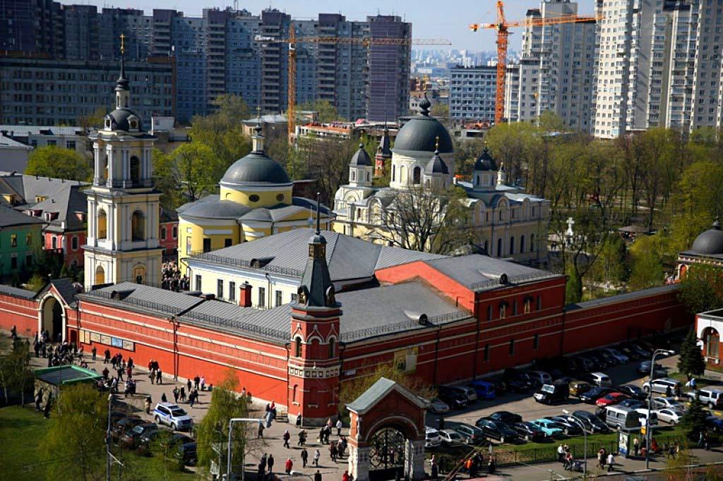Покровский монастырь вид сверху